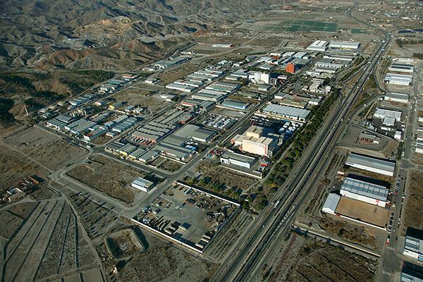 Polígono Lorca - vista aérea